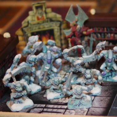 Cameo Characters: Zargon's frozen Horde