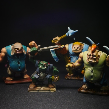 HeroQuest Pirate Crew